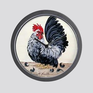 1 chicken card Tail Wall Clock