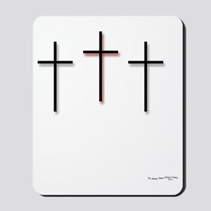 10x10_apparel-3Crosses Mousepad
