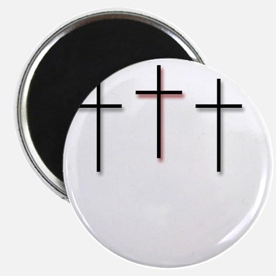 10x10_apparel-3Crosses Magnet