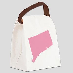 _0006_connecticut pink Canvas Lunch Bag
