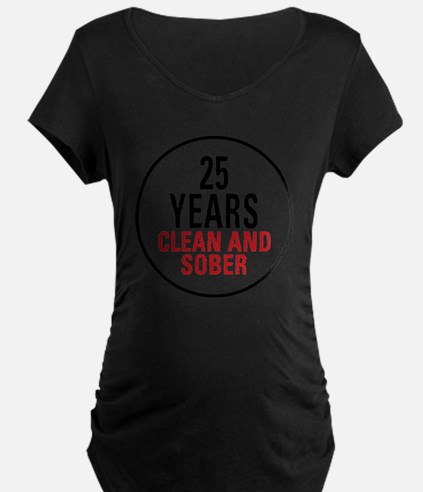 25 Years Clean and Sober! T-Shirt