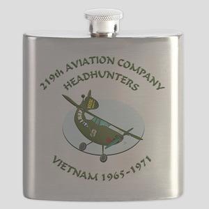 219th-Bird-Dog-white-back Flask