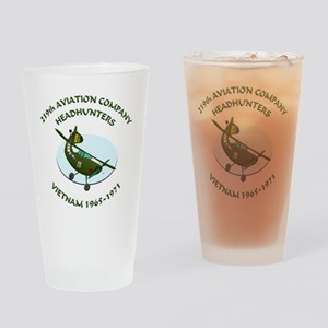 219th-Bird-Dog-white-back Drinking Glass