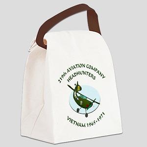 219th-Bird-Dog-white-back Canvas Lunch Bag