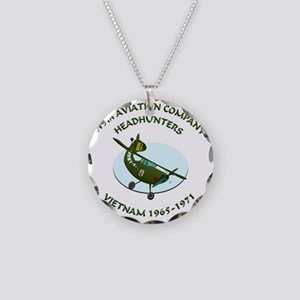 219th-Bird-Dog-white-back Necklace Circle Charm