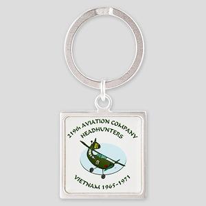 219th-Bird-Dog-white-back Square Keychain