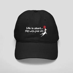 PlayDog4blk Black Cap