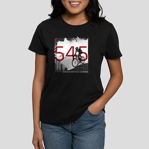 545_Design2b Women's Dark T-Shirt