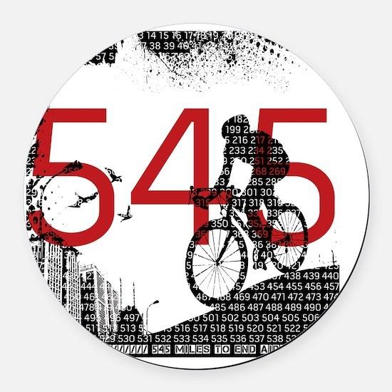 545_Design2b Round Car Magnet