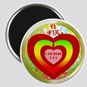 circular yene konjo copy Magnet