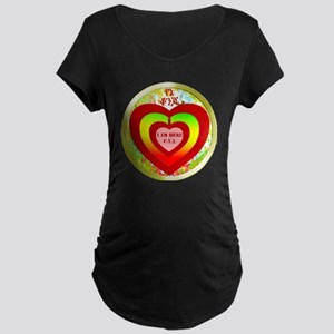 circular yene konjo copy Maternity Dark T-Shirt