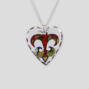 crawfishfldliscol Necklace Heart Charm