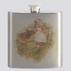Round the Hearth  Flask