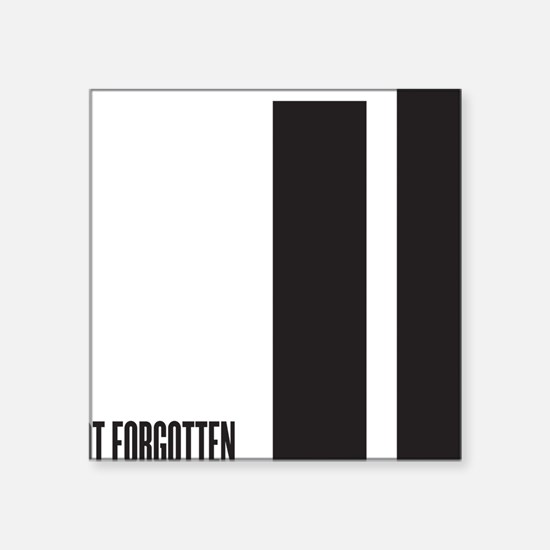 "September 11 th attacks Square Sticker 3"" x 3"""