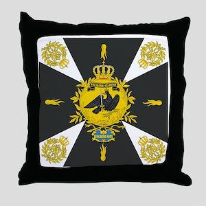 Gneisenau Colberg Prussian Battle Fla Throw Pillow