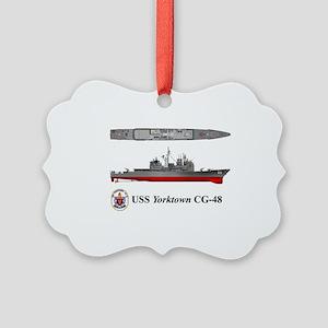 TicoCg-48_Yorktown_Tshirt_Front Picture Ornament