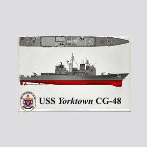 TicoCg-48_Yorktown_Tshirt_Front Rectangle Magnet