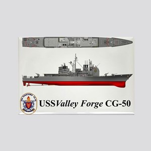 TicoCg-50_Valley_Forge_Tshirt_Fro Rectangle Magnet
