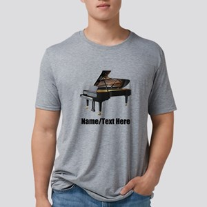 Piano Music Personalized Mens Tri-blend T-Shirt