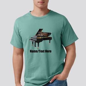 Piano Music Personalized Mens Comfort Colors Shirt