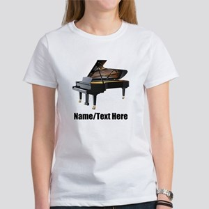 Piano Music Personal Women's Classic White T-Shirt