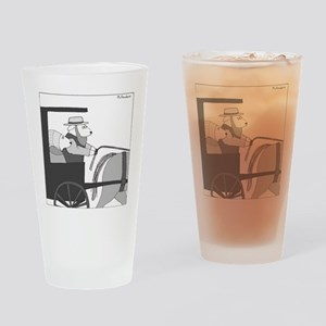 Llamish - no text Drinking Glass