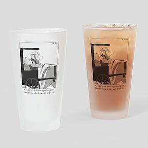 Llamish Drinking Glass