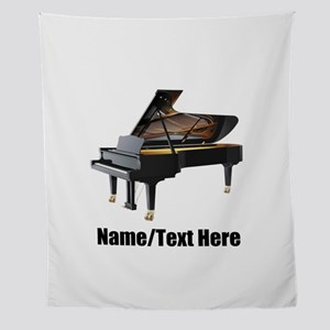 Piano Music Personalized Wall Tapestry