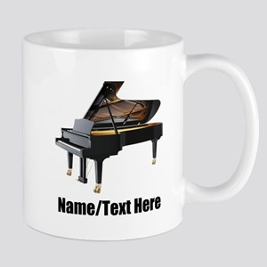 Piano Music Personalized 11 oz Ceramic Mug