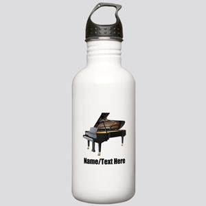 Piano Music Personaliz Stainless Water Bottle 1.0L