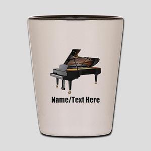 Piano Music Personalized Shot Glass