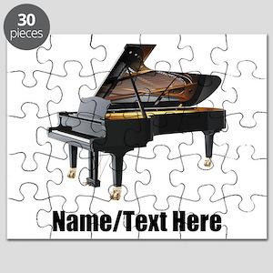Piano Music Personalized Puzzle