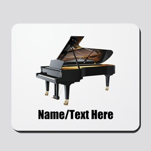 Piano Music Personalized Mousepad