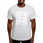 Order to Chaos Ash Grey T-Shirt