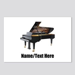 Piano Music Personalized Postcards (Package of 8)