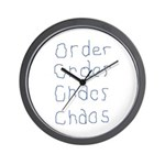 Order to Chaos Wall Clock