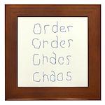 Order to Chaos Framed Tile