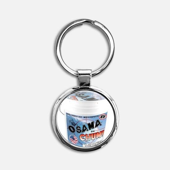 TERRORIST CHUM bucket Round Keychain