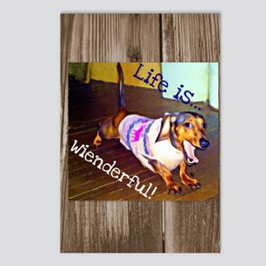 Dashing Doxie Postcards (Package of 8)