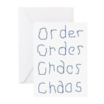 Order to Chaos Greeting Cards (Pk of 10)