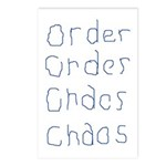 Order to Chaos Postcards (Package of 8)
