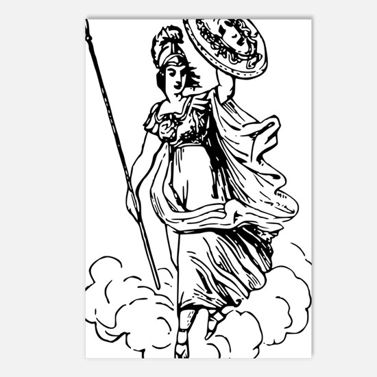 pallas athena Postcards (Package of 8)