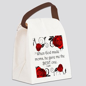 Best mom Canvas Lunch Bag