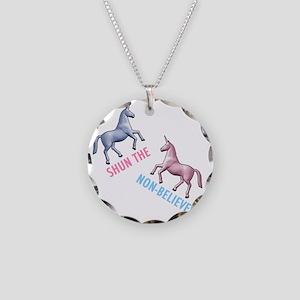 Charlie-D1-BlackApparel Necklace Circle Charm
