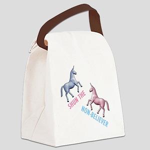 Charlie-D1-BlackApparel Canvas Lunch Bag