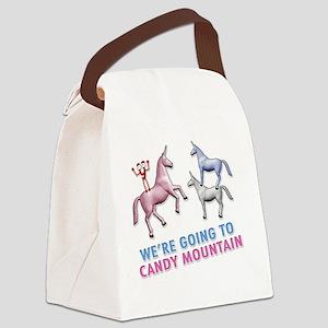 Charlie-D3-WhiteApparel Canvas Lunch Bag