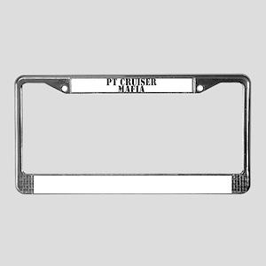 PT Cruiser Mafia License Plate Frame