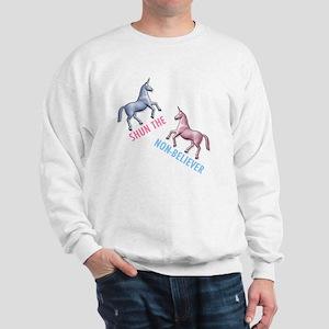 Charlie-D1-WhiteApparel Sweatshirt