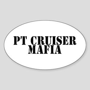PT Cruiser Mafia Oval Sticker