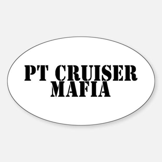 PT Cruiser Mafia Oval Decal